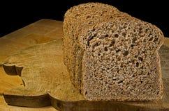 发芽的面包 免版税库存图片