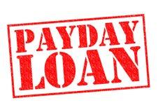 发薪日贷款 库存照片