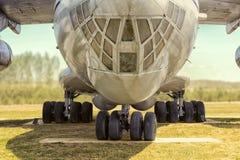 从发行取消的航空器陈列模型  免版税库存图片