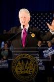 发表讲话的比尔・克林顿 免版税库存照片