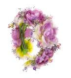 头发辅助部件 人造花箍 beauvoir 方式 查出在白色 免版税图库摄影