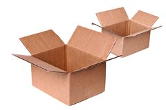 发运二的配件箱 免版税库存图片