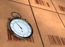 发运的时间 免版税库存图片
