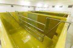 发酵水池 免版税库存照片