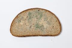 发霉的黑面包 库存照片