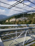 取决于的桥梁 免版税库存照片