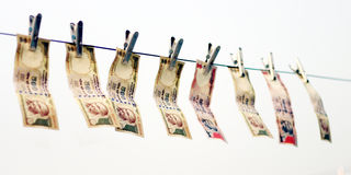 取缔在Rs 500, 1000笔记是在恐怖资助的外科罢工的Rs,黑金钱 图库摄影