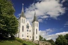 受难者的寺庙教会, 免版税库存图片