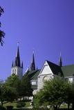 受难者的寺庙教会 免版税库存照片