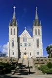 受难者的寺庙教会 库存图片
