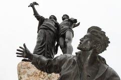 受难者的纪念碑 图库摄影