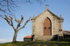 受难象教堂, Belmonte -葡萄牙 免版税图库摄影