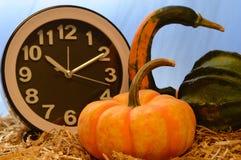 变动的秋天时间 图库摄影