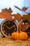 变动的秋天时间 免版税图库摄影