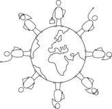 变化地球 免版税库存图片