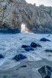 变化增光加利福尼亚沿海风景  免版税图库摄影