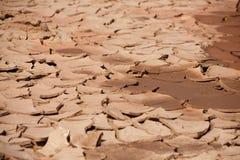 变干的土壤 免版税库存照片