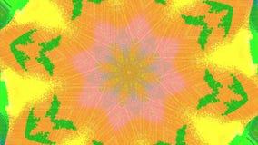 变换的动态计算机国际庞克荧光的呈虹彩背景 库存例证