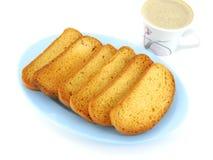 变甜的面包 库存图片