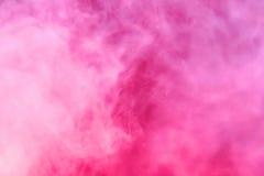 变粉红色天空 免版税库存图片