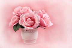 变粉红色玫瑰 免版税图库摄影