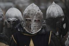 变老中间战士 免版税库存图片