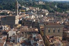 变老的城市屋顶  免版税库存照片