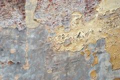 变老的墙壁 免版税库存图片
