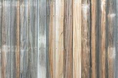 变老的木墙壁模式 库存图片