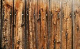 变老的板条木头 库存照片