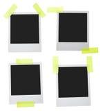 变老的框架人造偏光板 免版税库存图片