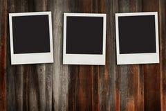 变老的框架照片 库存照片