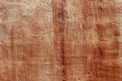 变老的水泥grunge油漆红色纹理墙壁 免版税库存照片