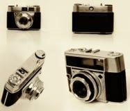 变老的照相机 库存图片