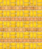 变老的砖模式瓦片 库存图片