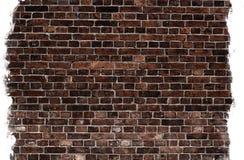 变老的砖纹理墙壁 库存图片