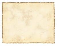 变老的纸张 皇族释放例证