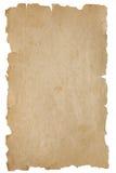 变老的老纸张 免版税库存图片