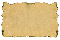 变老的自然老纸张 图库摄影