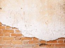变老的街道墙壁背景,纹理 免版税库存图片