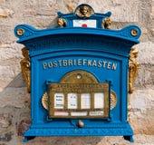 变老的letterbox 免版税库存照片