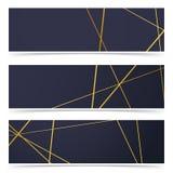 变薄金黄线样式摘要几何卡片收藏 库存照片