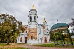 变貌我们的救主, 11世纪,切尔尼戈夫,乌克兰的大教堂, 库存图片