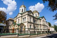 变貌教会在基希纳乌,摩尔多瓦 免版税库存照片