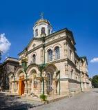 变貌教会在基希纳乌,摩尔多瓦 免版税图库摄影