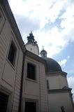 变貌教会老石大厦 库存照片