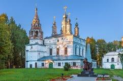 变貌教会, Veliky Ustyug,俄罗斯 库存图片