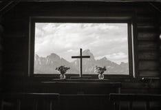 变貌教堂  库存图片