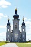 变貌, Cathedraltown的大教堂 markham 免版税库存照片