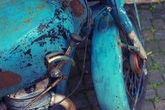 变速杆杠杆老摩托车 库存照片